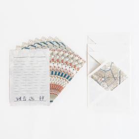 江戸古地図レターセット
