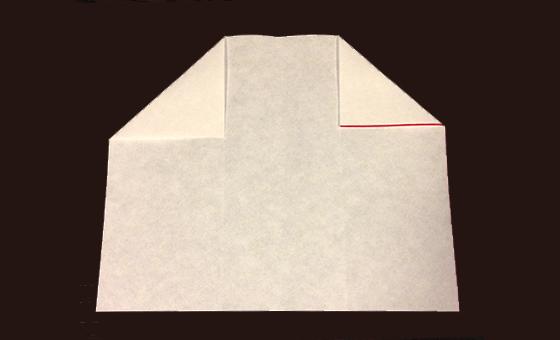 懐紙と千代紙で箸袋を作る 3