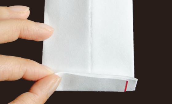 懐紙と千代紙で箸袋を作る 7