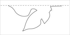 梶の葉作り方1