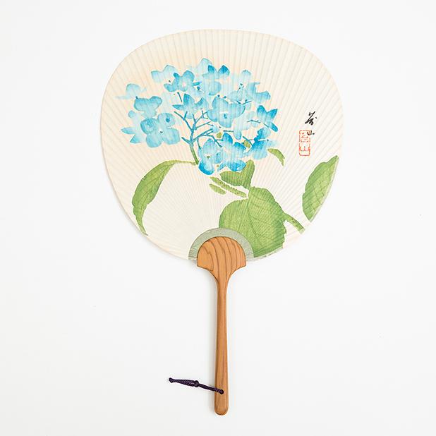 木版摺り団扇