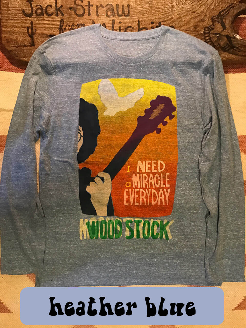 moonstruck×aarticles/WOODSTOCK I need a miracle everyday T