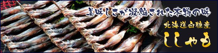 美味しさが凝縮された本物の味、北海道白糠産のししゃも