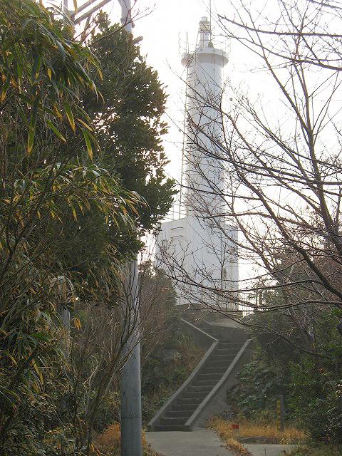 日比水道の羅針盤向島灯台