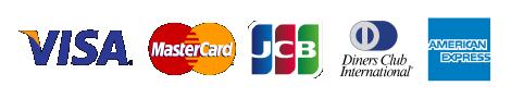 VISA MasterCard JCB Dinners AMERICAN EXPRESS