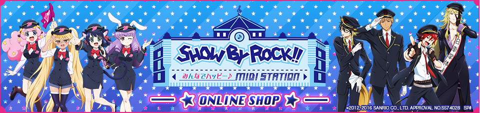 SHOW BY ROCK! ONLINE SHOP