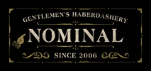 「NOMINAL(ノミナル)」はWEIRDO,GANGSTERVILLE,GLADHAND,CALEE,RADIALL等をメインに取り扱う徳島のセレクトショップ。