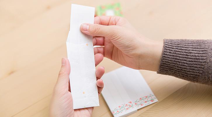 カジュアルな便箋・封筒