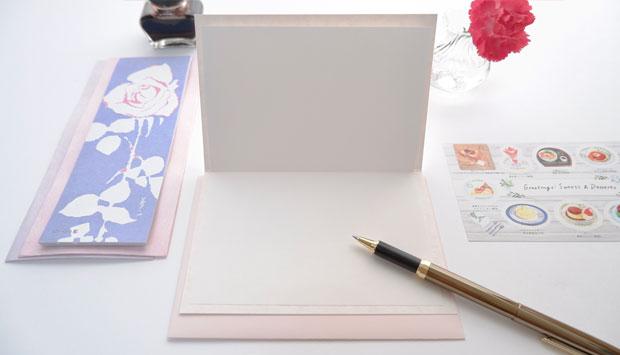 はいばらカード「色硝子」桜
