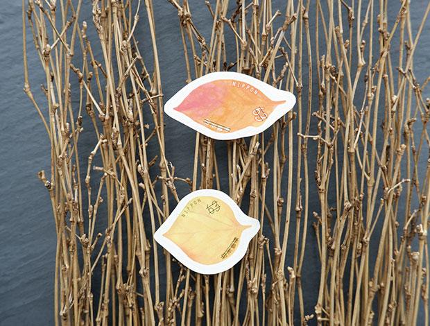 秋刀魚と猫の葉書