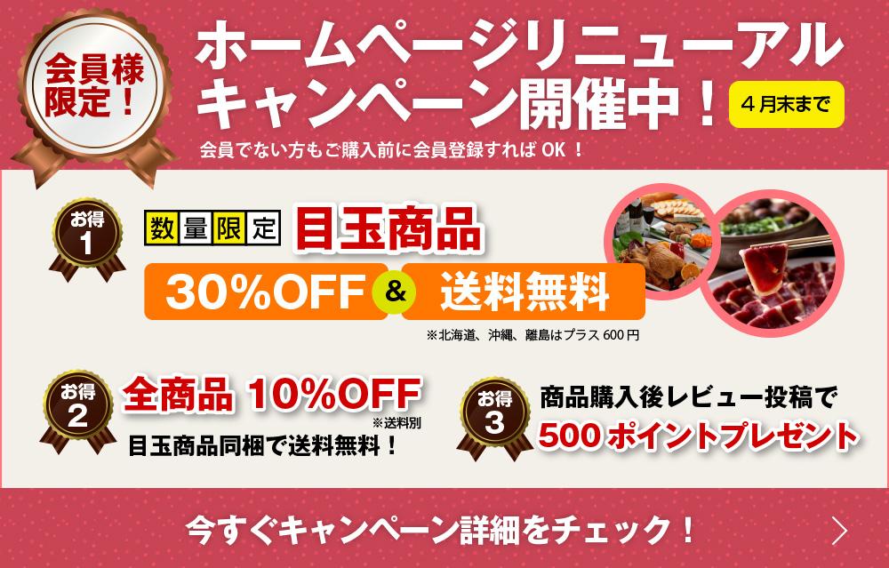 ホームページリニューアル キャンペーン開催中!