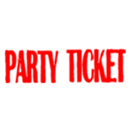 PARTY TICKET パーティー チケット