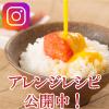 Instagramでレシピ公開中