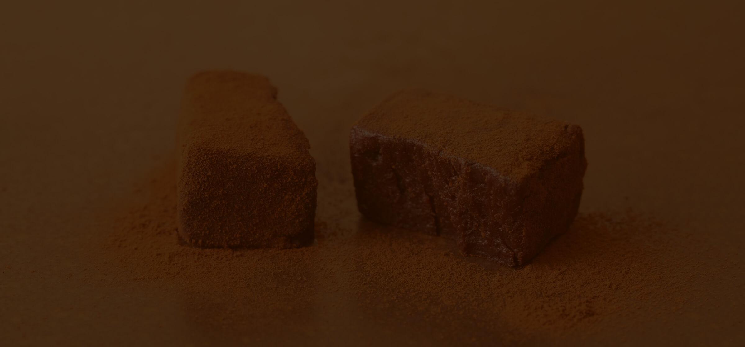 Dari K(ダリケー)の主力商品「生チョコレート」