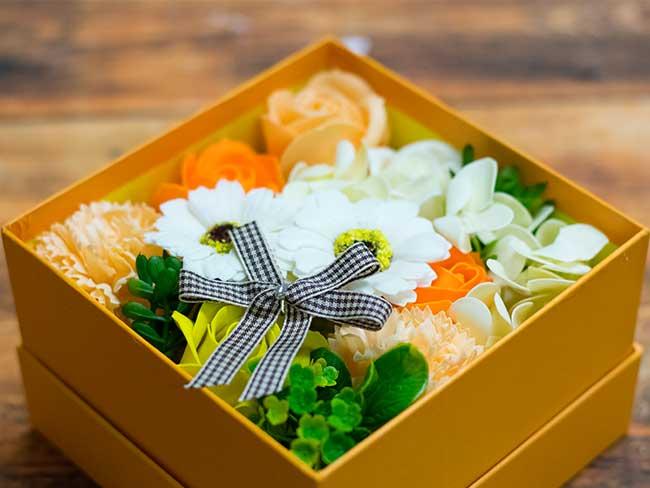バスフレグランスソープアレンジボックス