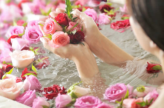 バラ風呂セットローズファタール