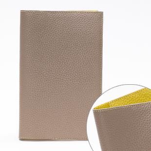 C195(Stone)x C188(Lemon)ステッチカラー変更のオプションで表側をLemon色のステッチに。