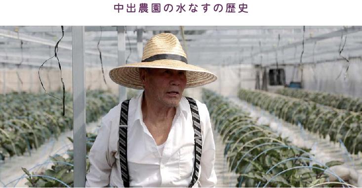 中出農園の水なすの歴史