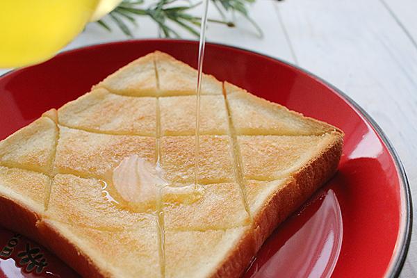 パン・トーストに金ごま油