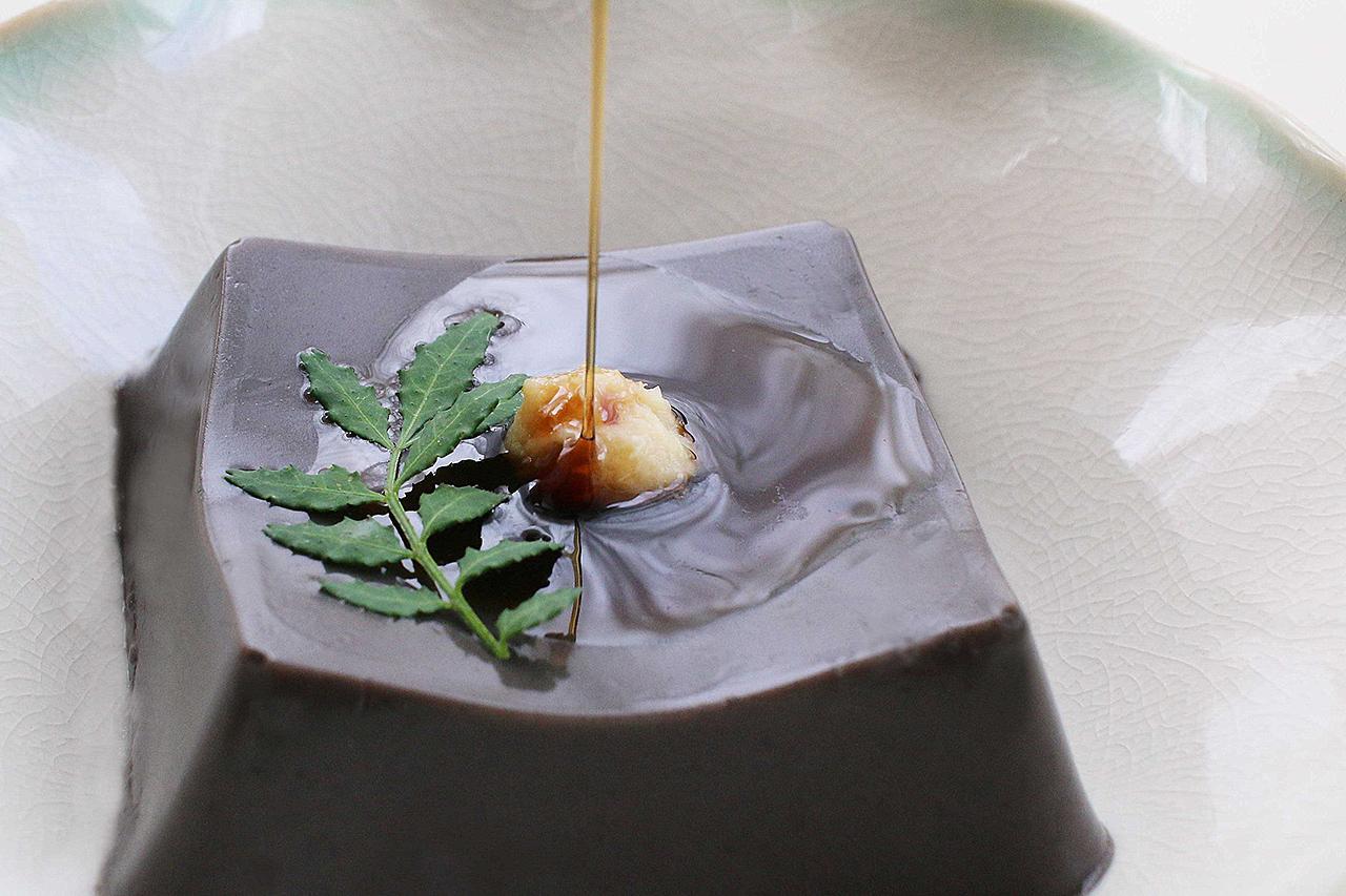 黒ごま胡麻豆腐