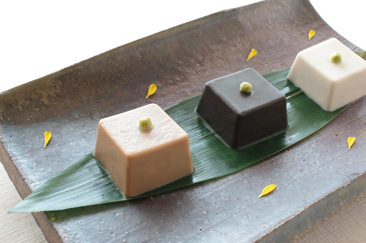 濃厚ごま豆腐3種