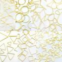 フレームパーツゴールドオールmix全21種類各10個(計210個)全タイプ全サイズレジンクラフト型枠チャームピアスイヤリングパーツ