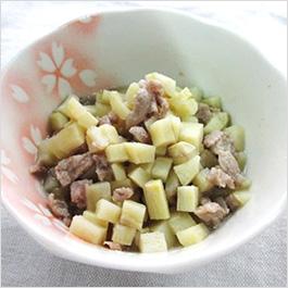 豚肉とさつまいもの煮物