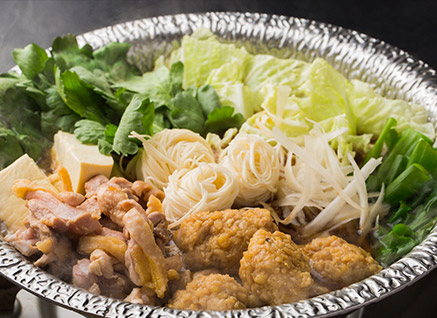 鶏ひきとおし鍋