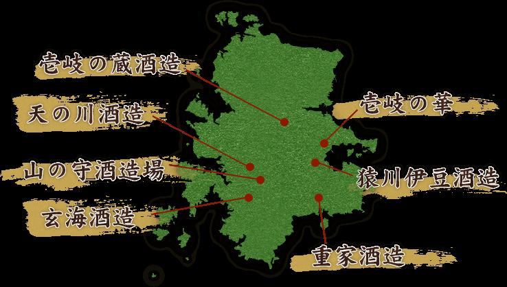 壱岐マップ