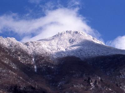 塚原高原の冬と積雪