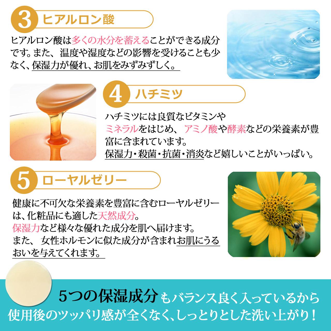 【送料無料!】コラーゲンソープ 洗顔石鹸 無添加 お肌に優しい成分のみ 日本製 マリスビオ