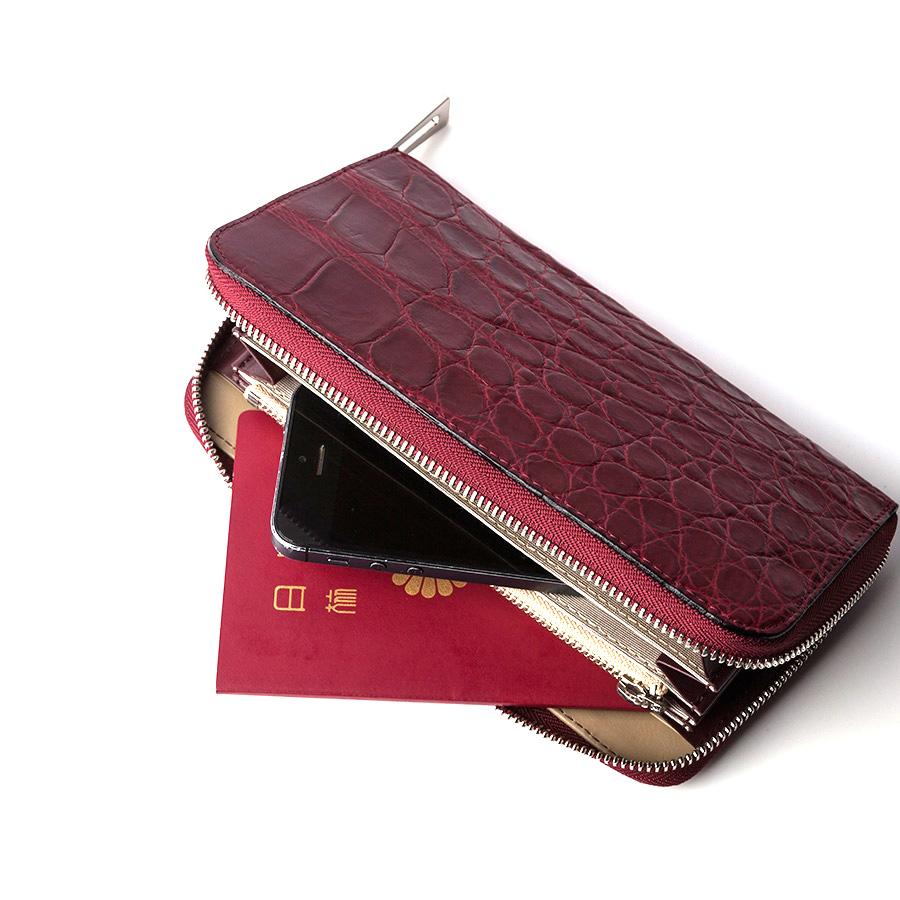 【S.sakamoto】マットクロコダイル長財布