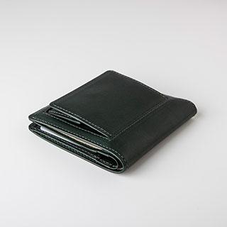 【THINly(スィンリー)】カードをスッキリ収納財布(札入小)ボックス小銭入れ付
