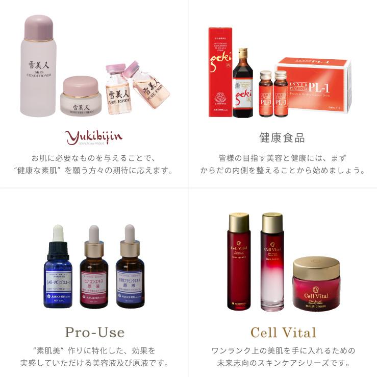 雪美人・健康食品・Pro-Use・Cell Vital