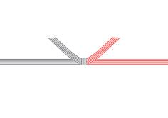 ④ 紅白結び切り(5本)(のしなし)