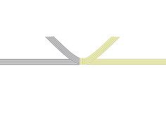 ⑤ 黄白結び切り(5本)