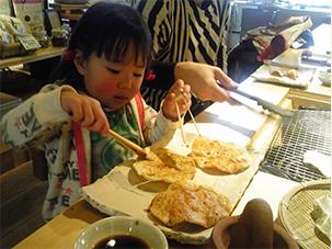 手焼せんべい 駄菓子 播州 アリモト 玄米 手焼きせんべい体験