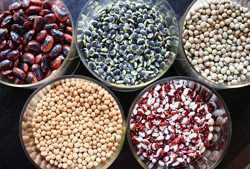 酢重の豆の画像