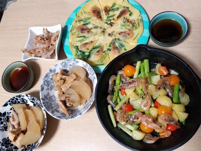 海老づくし料理☆