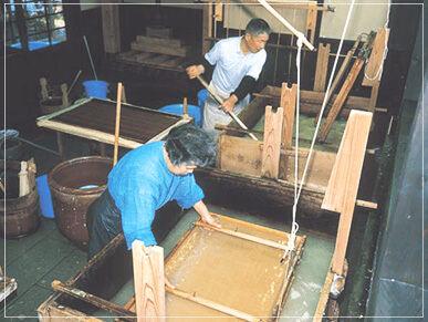 日本で最も由緒ある越前和紙を使用