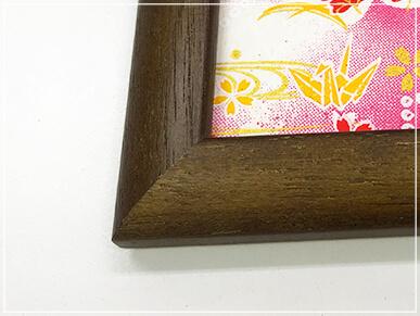 特注サイズの木製額縁