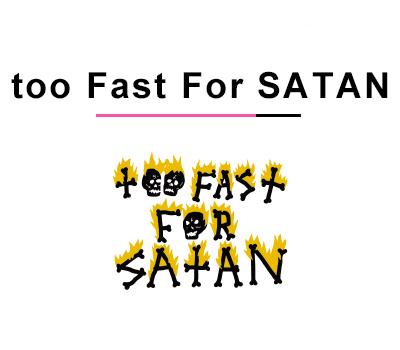 バンパイレーツサーフボード too Fast For SATAN モデル