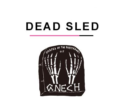 バンパイレーツサーフボード DEAD SLED モデル