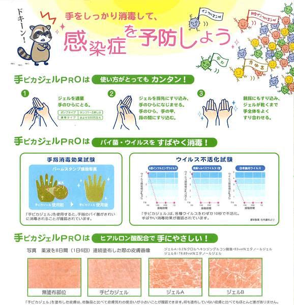 手をしっかり消毒して、感染症を予防しよう