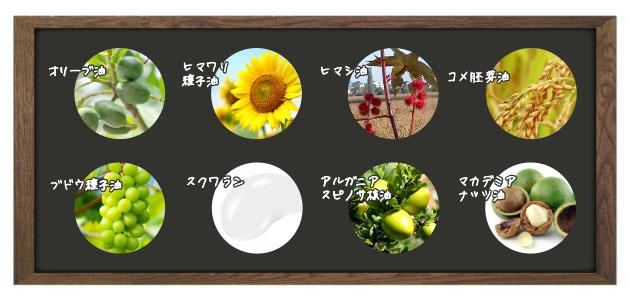 8種のオイル