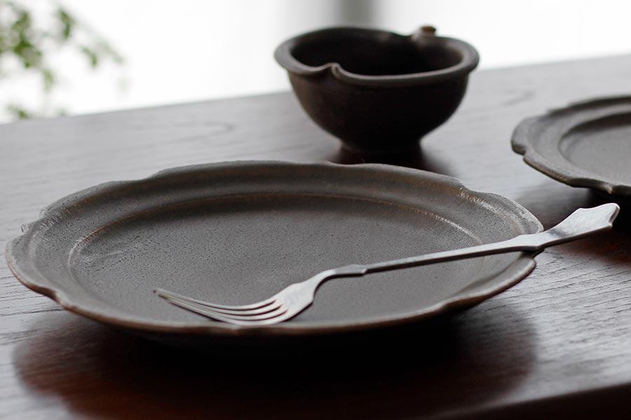 彫刻皿,古谷製陶所