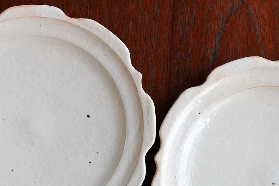 古谷製陶所の粉引のうつわ