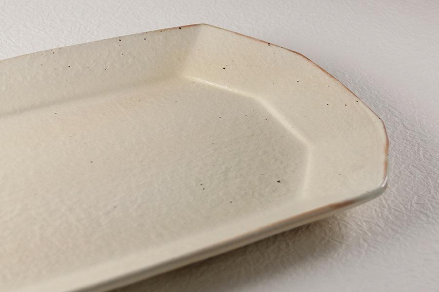八角プレート,古谷製陶所のうつわ