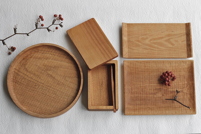 堀 宏治さんの木のお皿