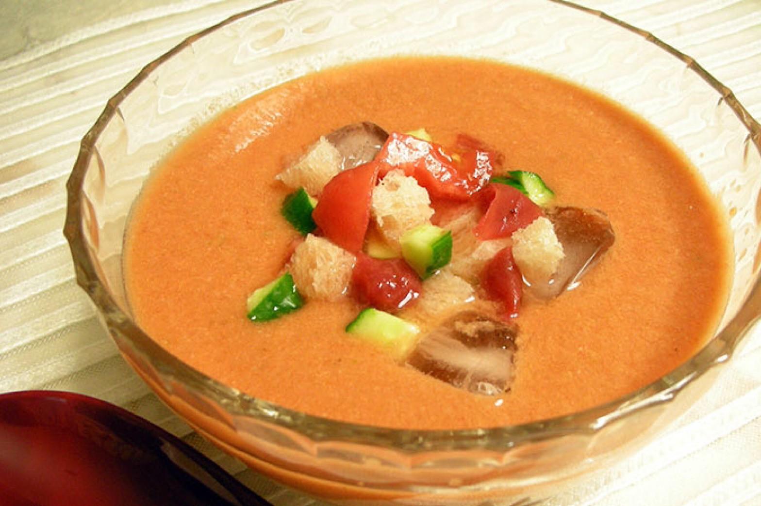 ガスパチョ風 冷しスープ